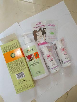 (全4件貨) 蔓越莓 女性 潔膚液 潔膚乳 Moraz Lactacyd Saforelle 護理液