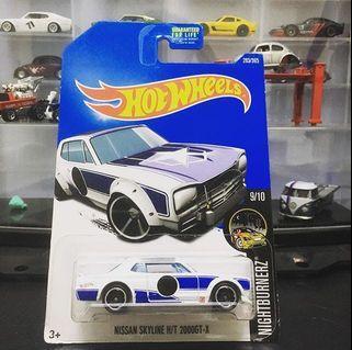 Hotwheels Nissan Skyline H/T 2000GT-X