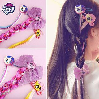 🌈 My Little Pony Colored Hair Clip Girl's Hairclips Cosplay Hairpins