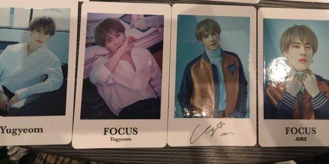 JUS2 Japan Photocards Yugyeom