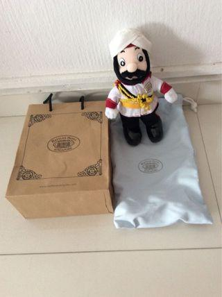 🚚 Raffles hotel Iconic Doorman soft toy
