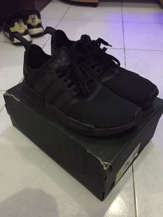 5323186c102a0 Authentic adidas nmd triple black