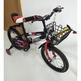 Kids Bike + pump