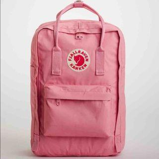 Fjallraven 15-Inch Laptop Backpack in Pink