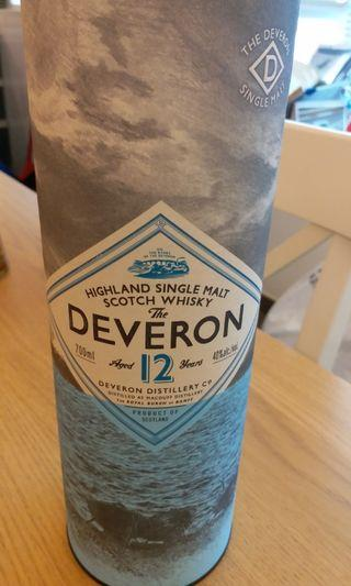 The deveron 12 years whisky