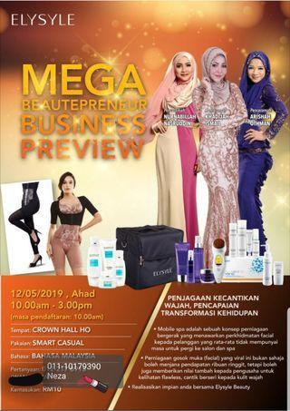 Mega Beautepreneur Business Preview