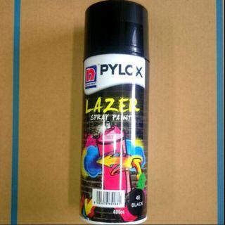 Nippon Glossy Black Spray Paint