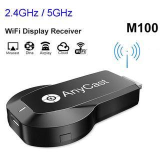 AnyCast 雙頻無線鏡像投影器 (5GHz, 4K) Wireless Display Dongle