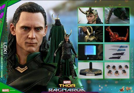 現貨 全新 Hot toys Loki MMS472 洛基 雷神3
