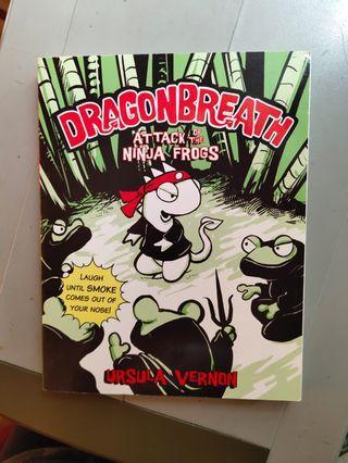 Dragonbreath story book