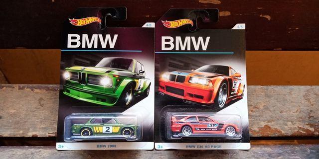 Hot Wheels - BMW 2002 & E36 M3 Race (BMW Series)