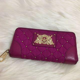 Juicy Couture Magenta Pink Long Wallet