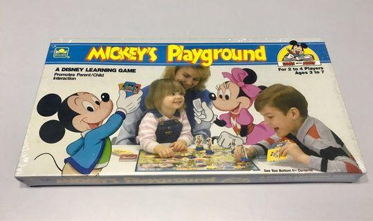 Mickey Playgrounds leanings games