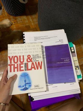 🚚 You and the Law