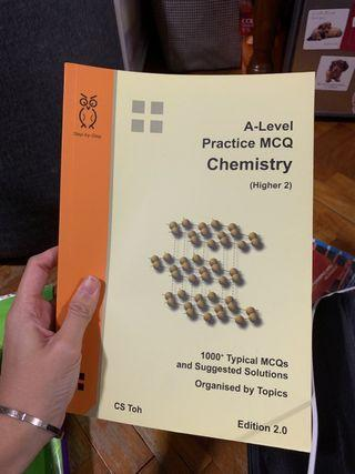 A Level Practice Mcq H2 Chemistry