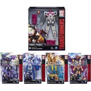 Transformers Power Of The Primes Abominus Terrorcons Hun-Gurrr Blot Rippersnapper Sinnertwin Cutthroat full set
