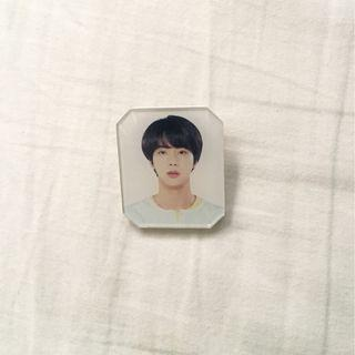 wts love yourself official merch jin badge