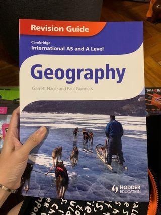 🚚 Cambridge Geography revision guide