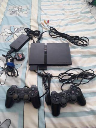 Modded Slim Playstation 2 Console