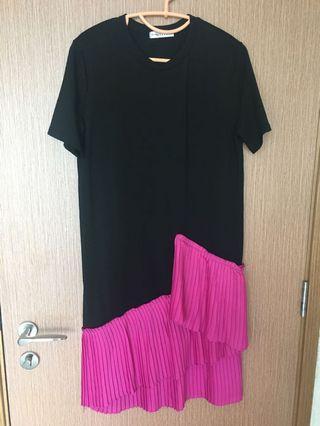 LUMIOR Black with Pink dress