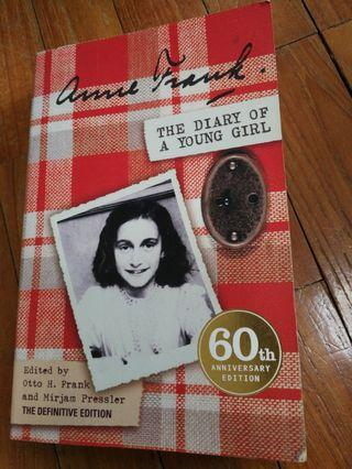 🚚 Anne Frank - The Diary of a Young Girl (60th Anniversary Edition)