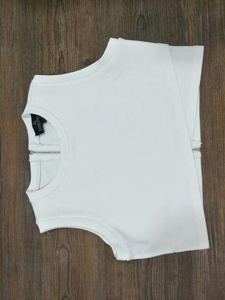 Doublewoot White Top Size L