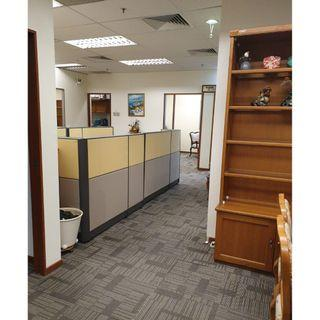 Fully fitted and furniture well done office / storage commercial unit for Rent. 1500 sq ft unit . total has 7 rooms + work stations .
