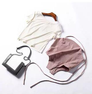 Offer Set Wear Pink With White Top