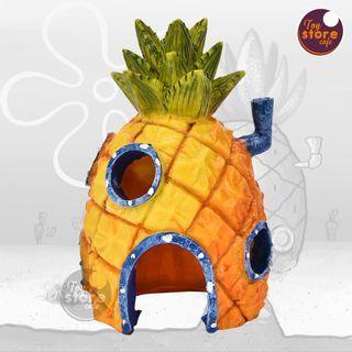 Spongebob - Aksesoris Aquarium - Aksesoris Akuarium - Pajangan meja