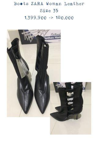 Zara Ankle Boots (35)