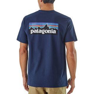Patagonia Logo Pocket Tee Shirt