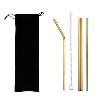 Stainless straw gold