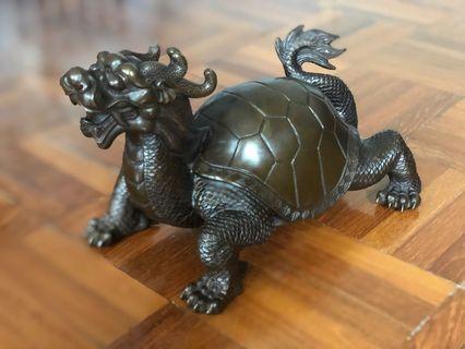 風水龍龜#全銅及特制藝術品