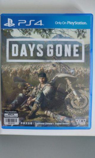 PS4 Game Days Gone (有code)