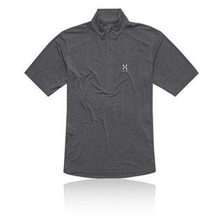 Haglofs Ridge II 1/2 Zip T-Shirt_Size S_Dark Grey