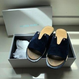 Nelissa Hilman Teja Pearl Navy Blue Sandal