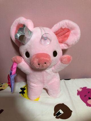 Princess pig soft toy