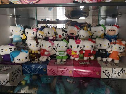 Hello Kitty 公仔一套(不散賣)