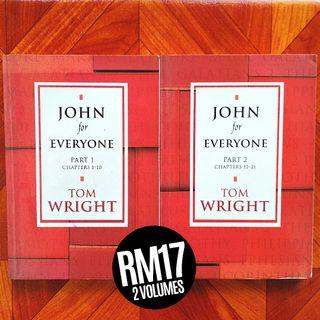 The New Testament for Everyone: John for Everyone (2004) by N.T. Wright