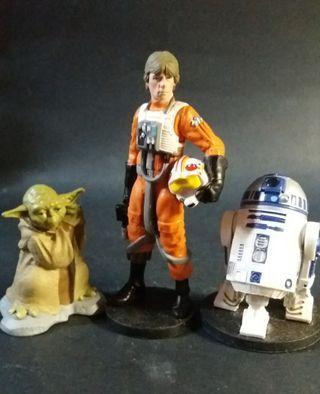 "star wars 3.75"" display figure lot of 3"