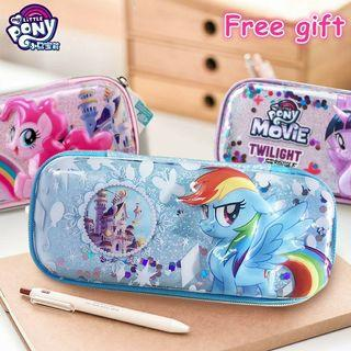 My Little Pony 🌈 3D Pencil Case Cute Cartoon Student Stationery Box Toys Gift