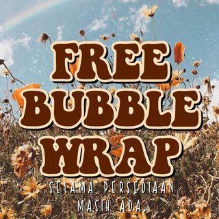 FREE BUBBLE WRAP