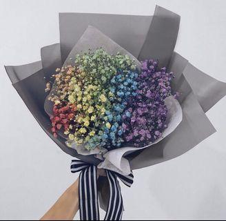 Graduation Rainbow Bouquet