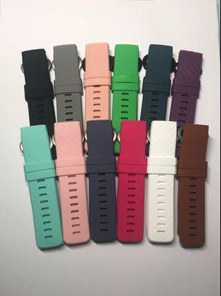 Fitbit Charge 3 Straps and Protectors/Charger
