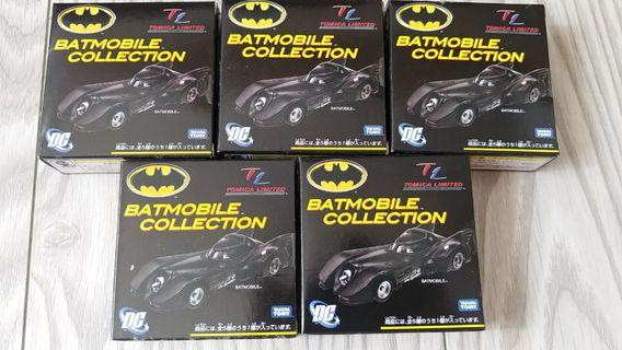 Tomica Limited Batmobile Collection 1套5架