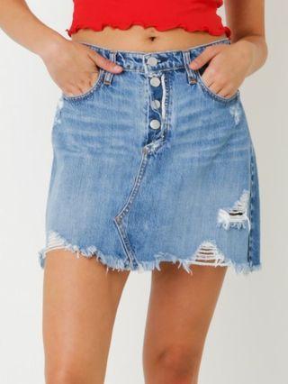 Brand new Nobody demin skirt