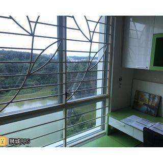 Nice Condo Common room with Beautiful widows view