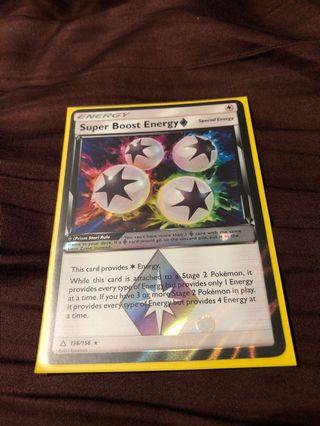 Pokemon Ptcg Super Boost Energy