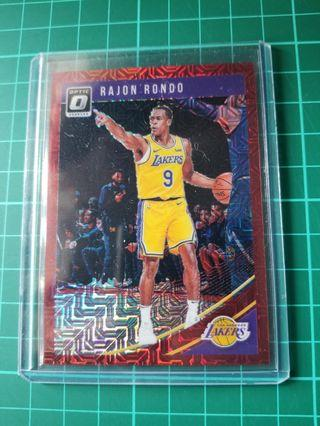 Panini Optic Rondo basketball card #/88