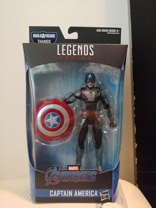 Marvel Legends Captain America 美國隊長 Avengers 4